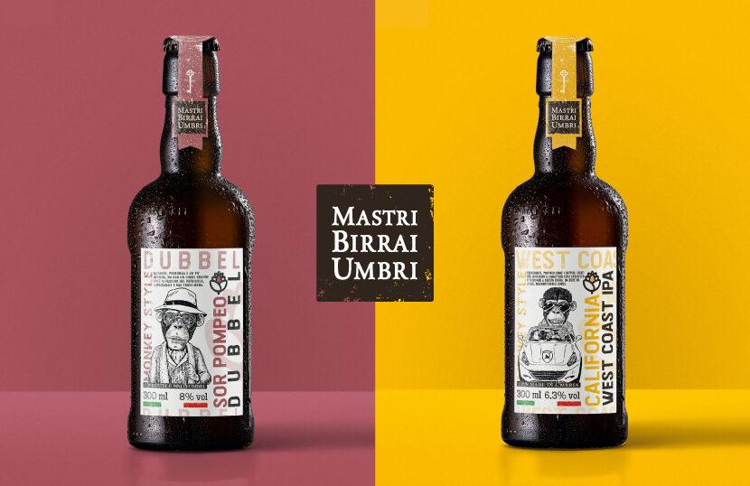 Mastri Birrai Umbri - Birra Monkey